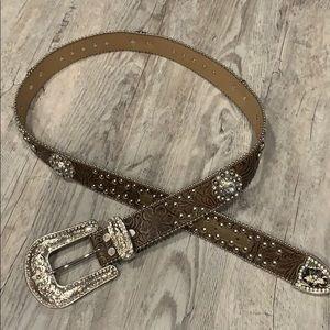 Blazin Roxx Blingy Belt- size L